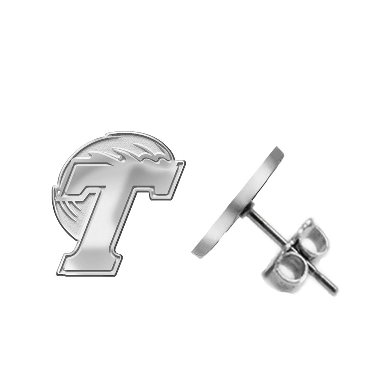 Home college tulane green wave tulane green wave silver plated - Amazon Com Tulane Green Wave Earring Small Stud See Image On Model For Size Reference Jewelry