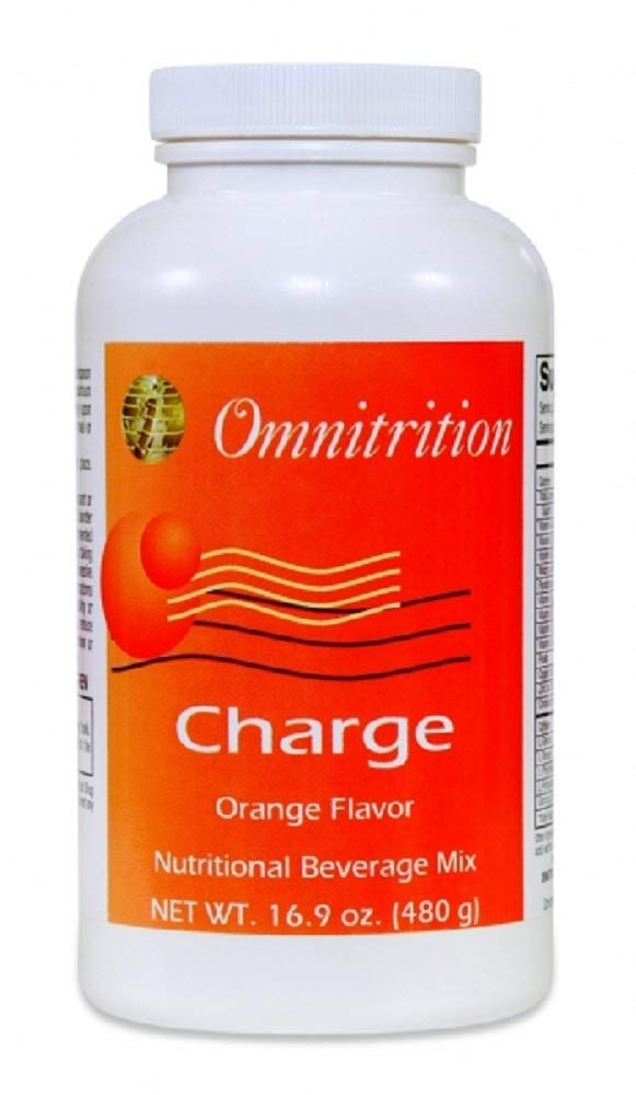 Charge Orange Flavor Nutritional Beverage Mix, 16.9 Ounce Bottle by Omnitrition