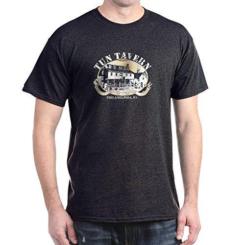 - CafePress Tun Tavern Dark T Shirt 100% Cotton T-Shirt Charcoal