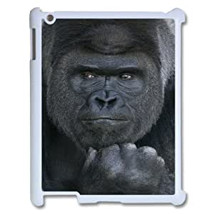Custom Colorful Case for Ipad 2,3,4, Black Gorilla Cover Case - HL-704131