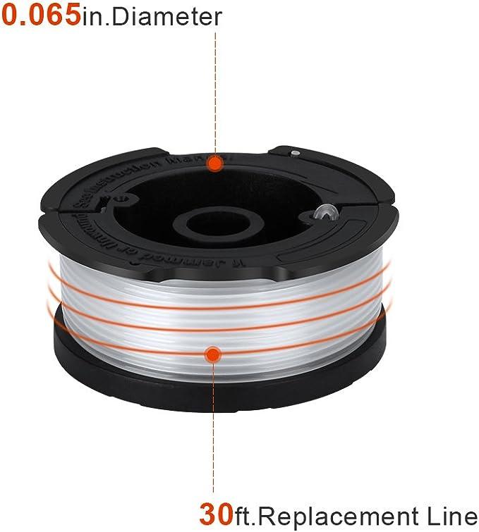 Amazon.com: Bobina de repuesto para recortadora de cuerdas ...