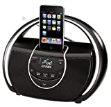 Jensen JISS-100 Portable iPod MP3 Docking Speaker Station w/AM FM Radio