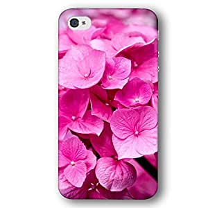 Hydrangeas Flower Flowers Pink iPhone 4 and iPhone 4S Slim Phone Case by lolosakes