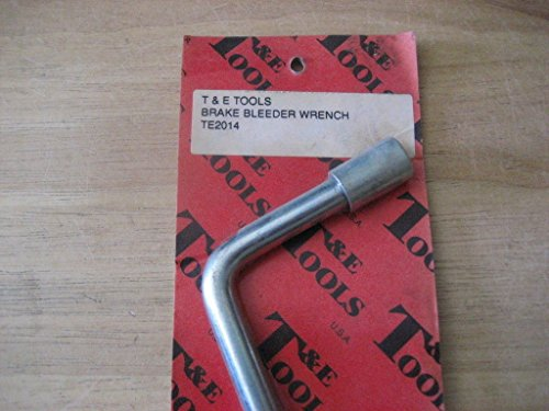 (T&E TOOLS TE2014 BRAKE BLEEDER WRENCH)