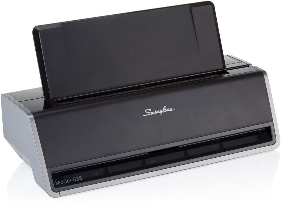 Swingline Electric 3 Hole Punch, Commercial Hole Puncher, 28 Sheet Punch Capacity, Platinum (74535): Office Products
