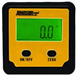 Johnson Level & Tool 1886-0000 Magnetic Digital Angle Locator