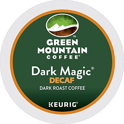Green Mountain Coffee Dark Witchery Decaf, Keurig K-Cups, 72 Count