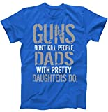 Best TeeShirtPalace Brother Tshirts - Funny Dad T-Shirt - Guns Don't Kill People Review