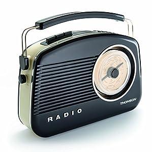 thomson dr70 dab03 retro digital am fm radio radio electronics. Black Bedroom Furniture Sets. Home Design Ideas