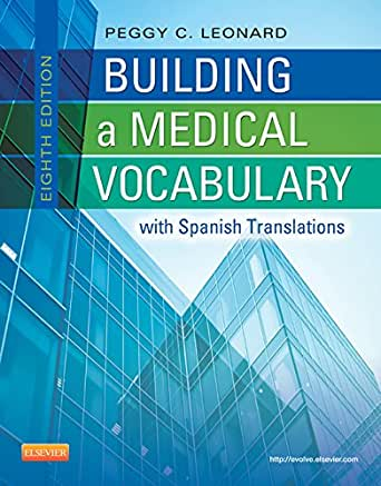 Building a medical vocabulary 8th edition