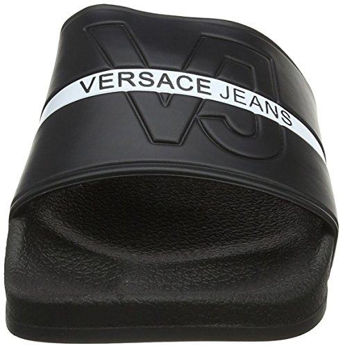 Versace Jeans Herren Scarpa Zehentrenner Nero (Nero)