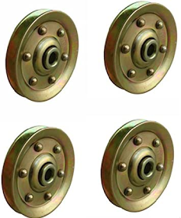 Extra Heavy Duty Garage Door Pulley 3 Inch 200lb 4 Pack Amazon Com