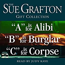 "Sue Grafton ABC Gift Collection:""A"" Is for Alibi,""B"" Is for Burglar,""C"" Is for Corpse"