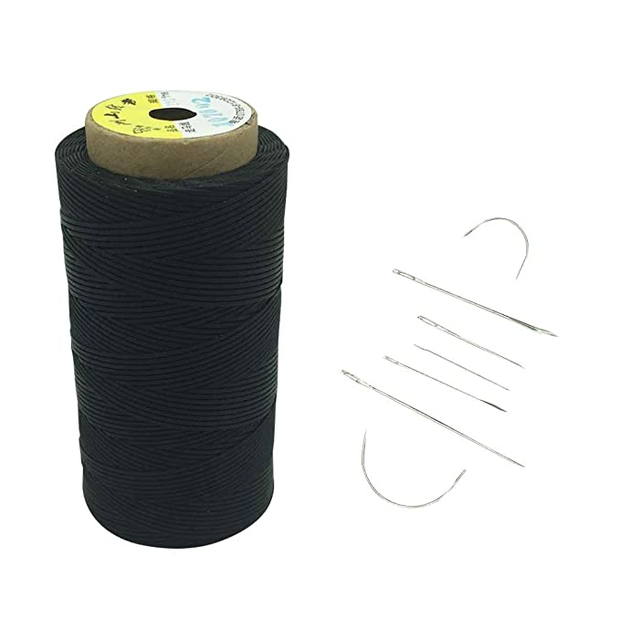 260 Meter 0,8mm Gewachstes Bindfäden Baumwollschnur Wachsband Nähen Handwerk