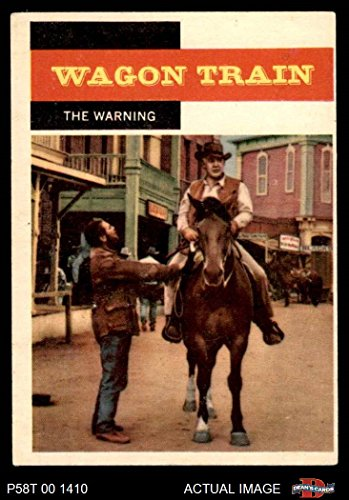 (1958 Topps TV Westerns # 48 The Warning (Card) Dean's Cards 5 - EX 2966006)