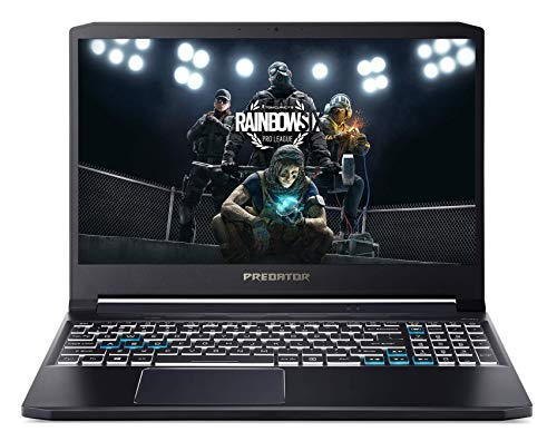 Acer Predator PT315-52 15.6″ FHD IPS 144 Hz Display Gaming Laptop (Intel i5 10300H Processor/8GB Ram/512GB SSD/Win10/GTX 1650Ti Graphics), 1.7kg, Abyssal Black