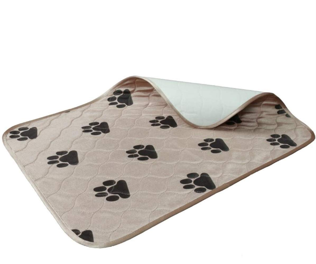 ANDRE HOME Waterproof Dog Bed Soft Mat Non Slip Washable Cushion Pet Pad Sleeping Mat(Coffee) Pet Bed Blanket