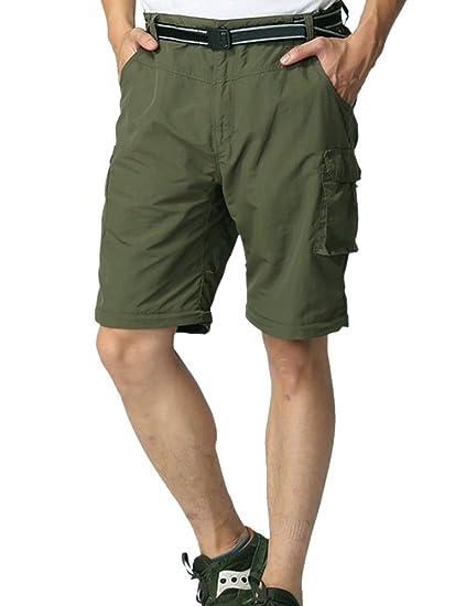 Amazon.com: Pantalón de trabajo para hombre de secado rápido ...