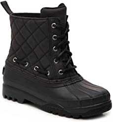 Sperry Top-Sider Womens Gosling Duck Boot, Black