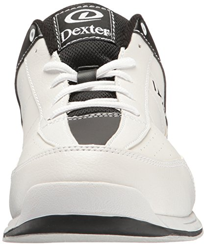 Dexter Men's Ricky III Bowling Shoes White/Black nafICZb1