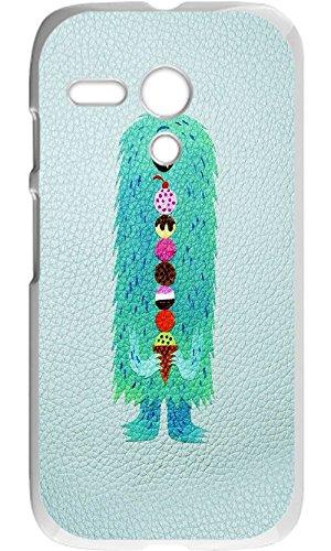 Custom Motorola Moto G Case - Monster Hard Plastic Phone cell Case for Motorola Moto - Case Monster Moto G