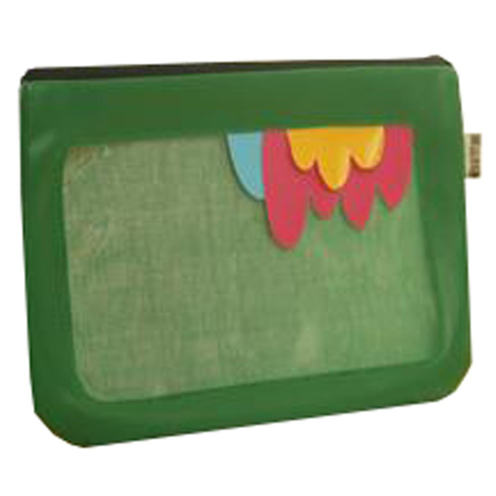 Cute File Bag Stationery Bag Pouch File Envelope for Office/School Supplies, Feathers G