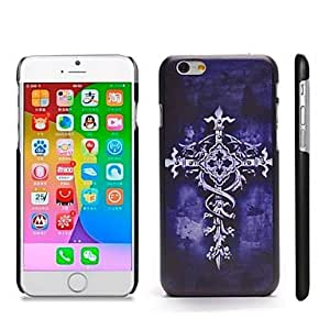 ZL Stylish Patterned Hard Plastic Snap On Case for iPhone 6