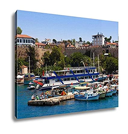 turkey home office. Ashley Canvas Old Harbour In Antalya Turkey Travel, Home Office, Ready To  Hang, Turkey Home Office Y