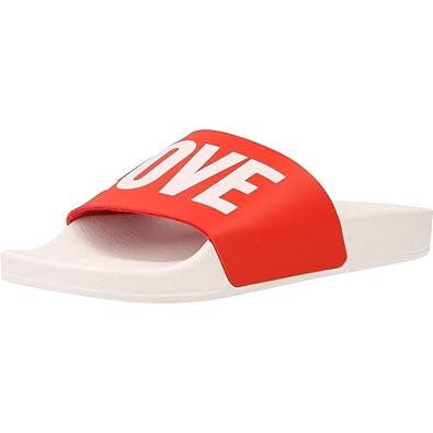 THE WHITE BRAND Sandalen/Sandaletten, Color Rot, Marca, Modelo Sandalen/Sandaletten High New Love Red Rot
