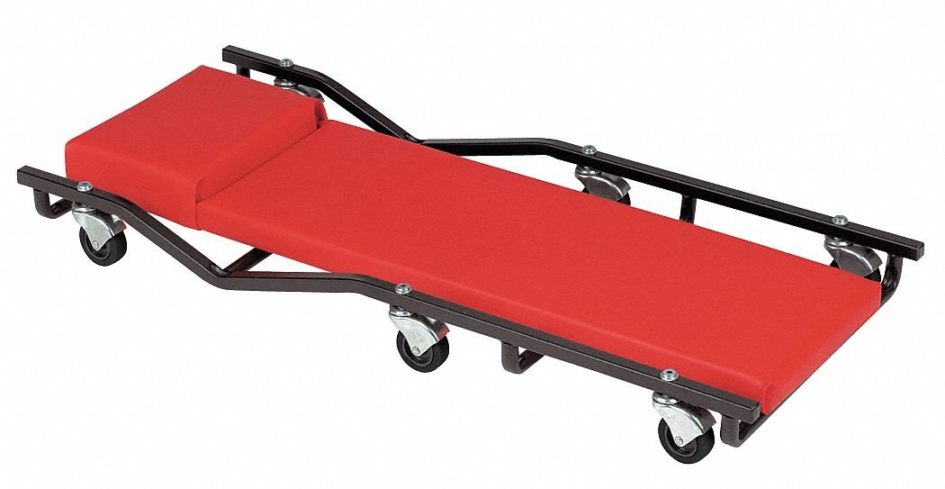 40'' x 17'' Creeper with 6 Wheels and 570 lb. Load Capacity