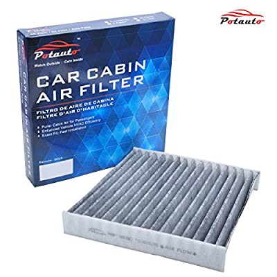 POTAUTO MAP 1008C Heavy Activated Carbon Car Cabin Air Filter Replacement compatible with LEXUS, PONTIAC, SCION, SUBARU, TOYOTA