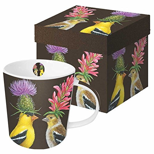 Paperproducts Design Porcelain Goldfinch Multicolor