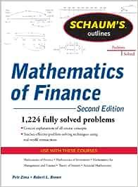 Schaum's Outline of Mathematics of Finance, Second Edition (SCHAUMS' BUSINESS ECONOMICS)