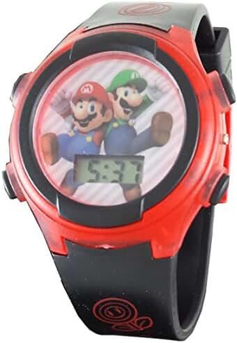 Mario & Luigi Kid's Digital Light Up Watch GSM3020