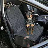 Pader Je Pet Front Seat Cover for Cars,WaterProof & Nonslip Backing,40″ x 20″,Black Review