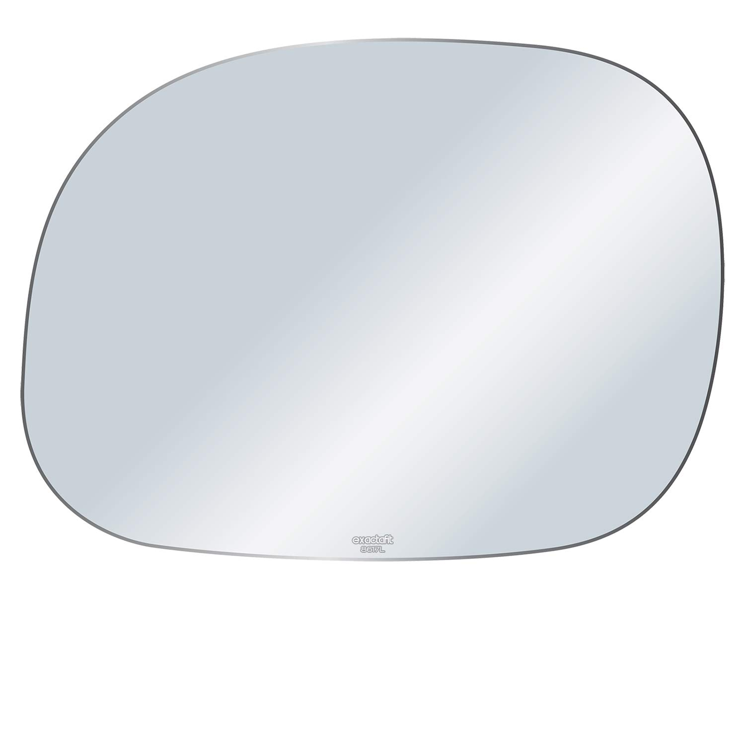 exactafit 8600R Right Passenger Side Mirror Replacement Glass Ford Truck Econoline Van Rugged TUFF