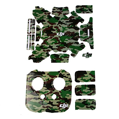 Ofeely Camouflage Waterproof Sticker Quadcopter