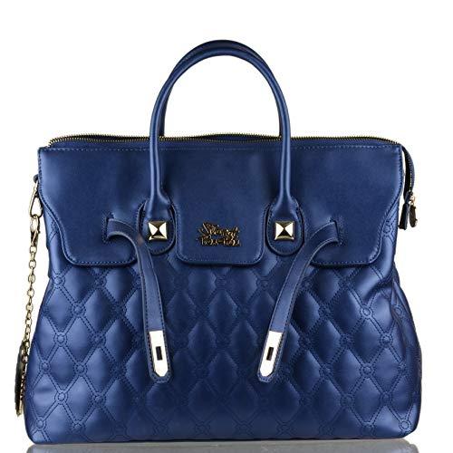 Pon CM Pon 40X31X16 Sac bleu main femme Secret Bleu à 15qzfdqnp