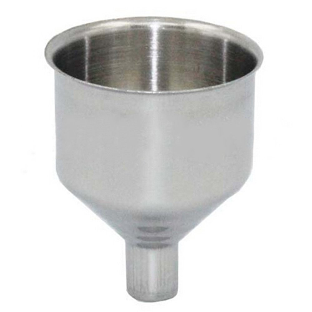 Bluelans® 38mm Stainless Steel Wide Mouth Funnel for Hip Flasks Flask Wine Pot Flagon