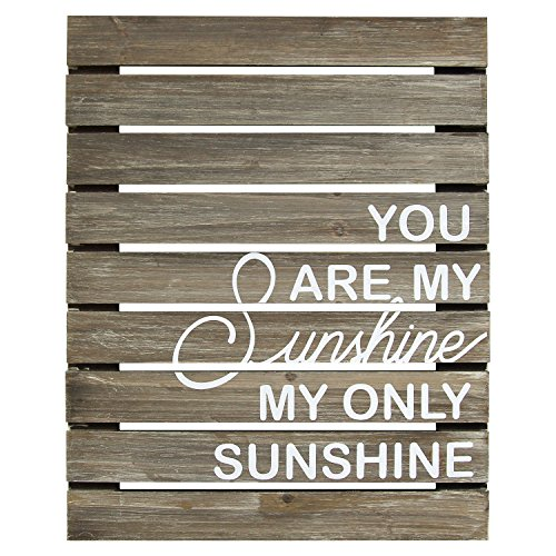 You Are My Sunshine Wooden Plank Wall (You Are My Sunshine Wooden Sign)