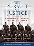 The Pursuit of Justice, Kermit L. Hall and John J. Patrick, 0195311892