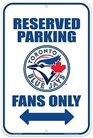 Toronto Blue Jays 10x15 Parking Sign