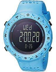 Columbia Mens CT004-405 Singletrak Analog Display Quartz Blue Watch