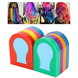 Hair Dye Coloring Pigment Powder 8 Colors, Hair Dye Pigment at Home, DIY Hair Dyes Styling Color Powder