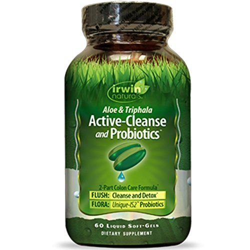 Irwin Naturals Active Cleanse Probiotics Soft Gels