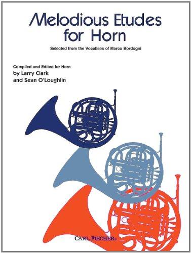 Carl Fischer Melodious Etudes for Horn