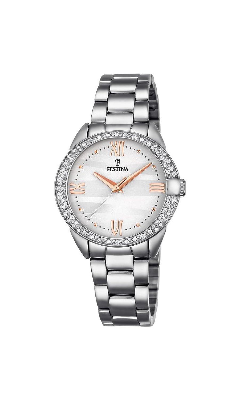 e23d4333e3c9 Festina Mademoiselle – Reloj de pulsera analógico para mujer cuarzo acero  inoxidable f16919 – 1
