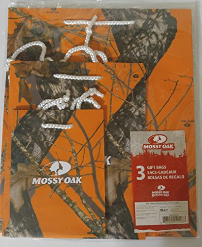 Set of 3 Mossy Oak Gift Bags ()