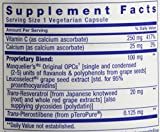 Life Extension Grapeseed Extract w Resveratrol and Pterostilbene 100 MG 60 Vcaps Discount