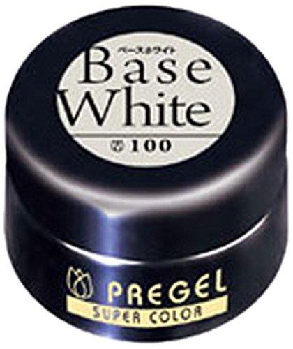 飾るバイナリやりがいのあるプリジェル スーパーカラーEX ベースホワイト 4g PG-SE100 カラージェル